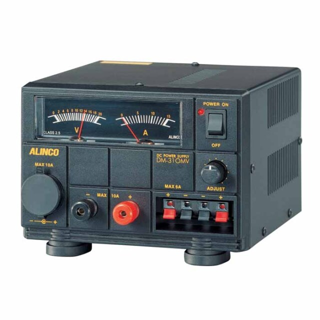 【DM-310MV】 安定化電源 MAX10A AC100V→DC12V (1~15V可変)