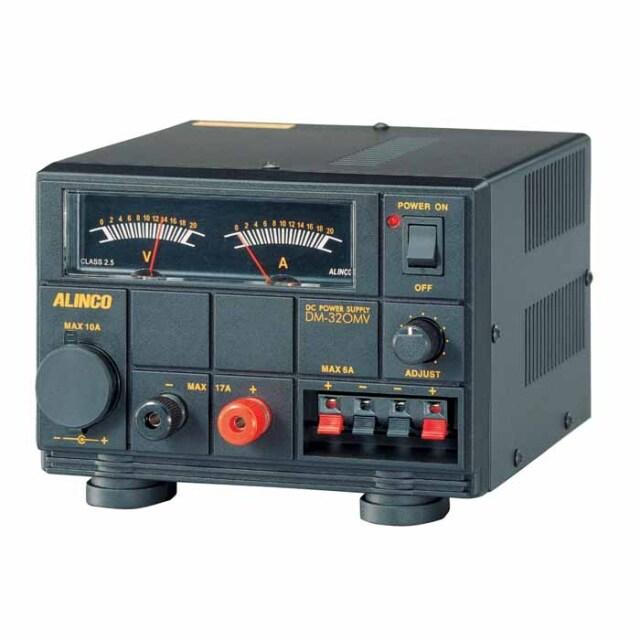 【DM-320MV】 安定化電源 MAX17A AC100V→DC12V (1~15V可変)