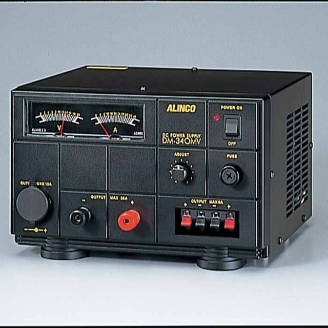 【DM-340MV】 安定化電源 MAX35A AC100V→DC12V (1~15V可変)