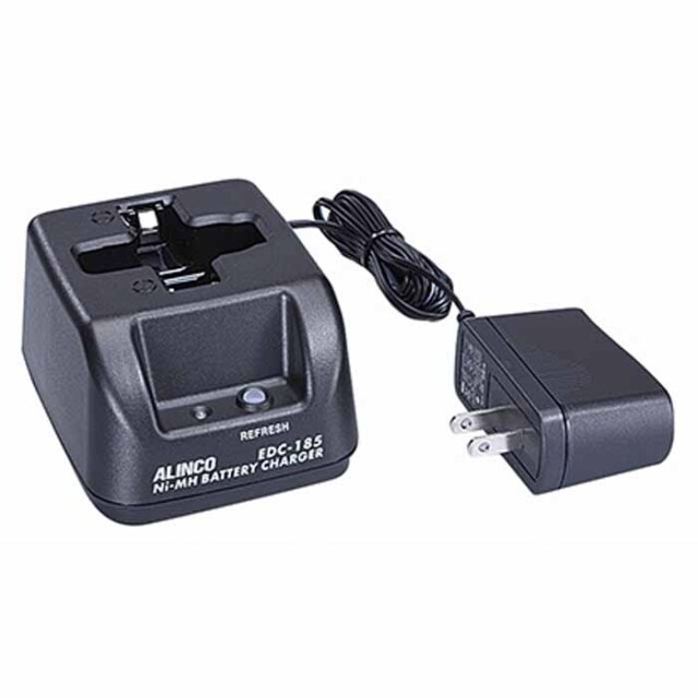 【EDC-185A】DJ-PX31,DJ-RX31,DJ-TX31用シングル充電器セット