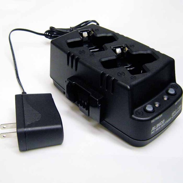 【EDC-186A】DJ-PX31,DJ-RX31,DJ-TX31用ツイン充電器セット