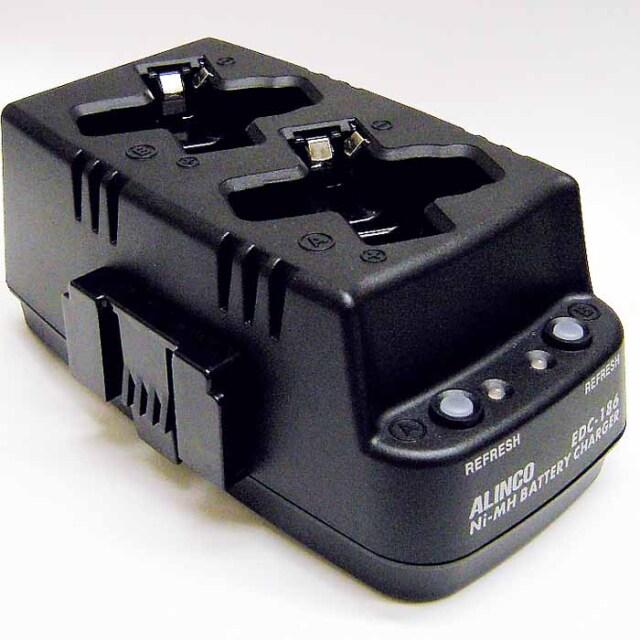 【EDC-186R】DJ-PX31,DJ-RX31,DJ-TX31用連結ツイン充電スタンド