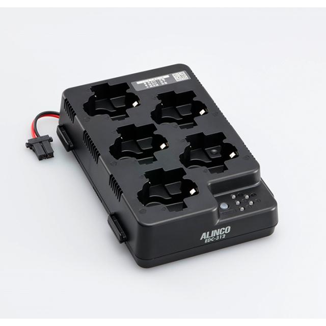 【EDC-312R】 DJ-P321,DJ-P322用5口充電スタンド