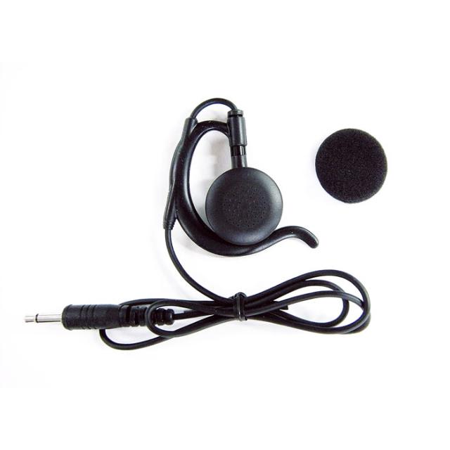 【EME-67B/EME-67W】耳掛け型ストレートコードイヤホン(3.5φ)