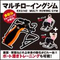 [廃盤品在庫処分]【新品】【フィットネス/健康/ダイエット/トレーニング/エクササイズ/脂肪燃焼/筋トレ】EXG142/マルチローイングジム/アルインコ(ALINCO)