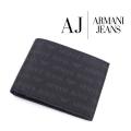 2017秋冬モデル[アルマーニジーンズ]ARMANI JEANS 二つ折り財布(小銭入れ付き) AJ-012