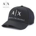 NEW!4/10入荷[アルマーニエクスチェンジ]ARMANI EXCHANGE キャップ(ブラック) AX-006