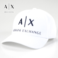 NEW!4/10入荷[アルマーニエクスチェンジ]ARMANI EXCHANGE キャップ(ホワイト) AX-007