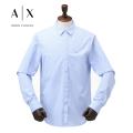 NEW!4/21入荷[アルマーニエクスチェンジ]ARMANI EXCHANGE 長袖シャツ(ライトブルー×ホワイトストライプ) AX-011