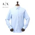 NEW!4/21入荷[アルマーニエクスチェンジ]ARMANI EXCHANGE 長袖シャツ(ライトブルー) AX-012