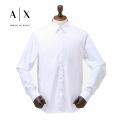 NEW!4/21入荷[アルマーニエクスチェンジ]ARMANI EXCHANGE 長袖シャツ(ホワイト) AX-013