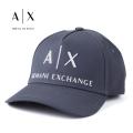 NEW!4/21入荷[アルマーニエクスチェンジ]ARMANI EXCHANGE キャップ(ネイビー) AX-017