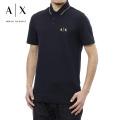 NEW!3/9入荷2021春夏モデル[アルマーニエクスチェンジ]ARMANI EXCHANGE ポロシャツ(ネイビーブラック) AX-032
