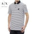 NEW!3/9入荷2021春夏モデル[アルマーニエクスチェンジ]ARMANI EXCHANGE ポロシャツ(ホワイト) AX-033