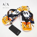 NEW!6/18入荷[アルマーニエクスチェンジ]ARMANI EXCHANGE ビーチサンダル(ホワイト×オレンジ) AX-052