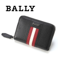 NEW!8/31入荷2018秋冬モデル[バリー]BALLY ラウンドファスナー コインケース/小銭入れ(ブラック) BA-132