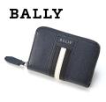 NEW!6/26入荷2019秋冬モデル[バリー]BALLY ラウンドファスナー コインケース/小銭入れ(ネイビー) BA-133