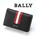 NEW!10/7再入荷2020秋冬モデル[バリー]BALLY カードケース/名刺入れ(ブラック) BA-134