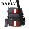 NEW!12/14入荷2018秋冬モデル[バリー]BALLY ショルダーバッグ(ネイビー×レッド) BA-143