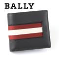 NEW!10/7再入荷2020秋冬モデル[バリー]BALLY 二つ折り財布(小銭入れ付き) ブラック BA-178