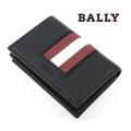 NEW!10/20入荷2020秋冬モデル[バリー]BALLY カードケース/名刺入れ(ブラック) BA-191