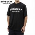 NEW!2/9入荷[バーバリー]BURBERRY Tシャツ(ブラック) BB-127
