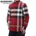 NEW!2/9入荷[バーバリー]BURBERRY 長袖シャツ(レッド) BB-129