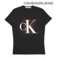 NEW!3/17入荷2020春夏モデル[カルバンクラインジーンズ]CALVIN KLEIN JEANS Tシャツ(ブラック) CK-334