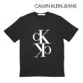 NEW!3/17入荷2020春夏モデル[カルバンクラインジーンズ]CALVIN KLEIN JEANS Tシャツ(ブラック) CK-335