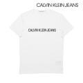 NEW!6/18入荷[カルバンクラインジーンズ]CALVIN KLEIN JEANS Tシャツ(ホワイト) CK-365