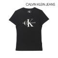 NEW!6/18入荷[カルバンクラインジーンズ]CALVIN KLEIN JEANS レディースTシャツ(ブラック) CK-369