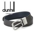 2018春夏モデル[ダンヒル] DUNHILL リバーシブルベルト(ピンタイプ) DH-090