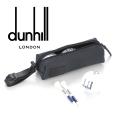 2018秋冬モデル[ダンヒル] DUNHILL ゴルフボールケース(ボール3個&ティー2本付き) DH-096
