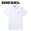 NEW!4/23入荷2019春夏モデル[ディーゼル]DIESEL ポロシャツ(ホワイト) DS-411