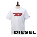 NEW!8/9入荷2019秋冬モデル[ディーゼル]DIESEL Tシャツ(ホワイト) DS-430