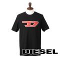NEW!8/9入荷2019秋冬モデル[ディーゼル]DIESEL Tシャツ(ブラック) DS-431