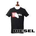 NEW!8/9入荷2019秋冬モデル[ディーゼル]DIESEL Tシャツ(ブラック) DS-433