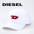 NEW!8/9入荷2019秋冬モデル[ディーゼル]DIESEL キャップ(ホワイト) DS-437