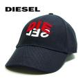 NEW!3/4入荷[ディーゼル]DIESEL キャップ(ブラック) DS-495