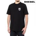 NEW!4/12入荷[ディーゼル]DIESEL Tシャツ(ブラック) DS-500