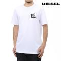 NEW!6/2入荷[ディーゼル]DIESEL Tシャツ(ホワイト) DS-501