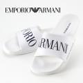 NEW!5/22入荷[エンポリオ・アルマーニ]EMPORIO ARMANI シャワーサンダル(ホワイト) EA-217