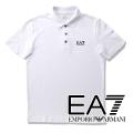 NEW!5/31入荷[エンポリオ・アルマーニ イーエーセブン]EMPORIO ARMANI EA7 ポロシャツ(ホワイト) EA-224
