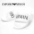 NEW!6/23入荷[エンポリオ・アルマーニ]EMPORIO ARMANI シャワーサンダル(ホワイト) EA-237