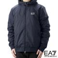NEW!12/8入荷2020秋冬モデル[エンポリオ・アルマーニ イーエーセブン]EMPORIO ARMANI EA7 フードジャケット(ナイトブルー) EA-264
