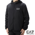 NEW!12/8入荷2020秋冬モデル[エンポリオ・アルマーニ イーエーセブン]EMPORIO ARMANI EA7 フードジャケット(ブラック) EA-267