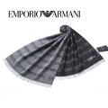 NEW!10/11入荷[エンポリオ・アルマーニ]EMPORIO ARMANI ウールマフラー(グレー) EA-350