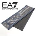 NEW!9/25再入荷2020秋冬モデル[エンポリオ・アルマーニ イーエーセブン]EMPORIO ARMANI EA7 ニットマフラー(ブルー系) EA-359