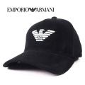 NEW!10/2入荷2020秋冬モデル[エンポリオ・アルマーニ]EMPORIO ARMANI キャップ(ブラック) EA-364