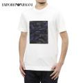 NEW!3/9入荷2021春夏モデル[エンポリオ・アルマーニ]EMPORIO ARMANI Tシャツ(ホワイト) EA-382